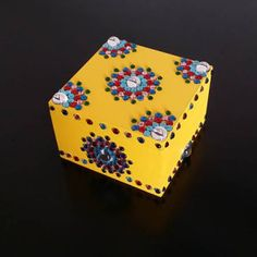 jewellery box, trinket box, hand crafted Jewellery Boxes, Jewelry Box, Trinket Boxes, Cube, Decorative Boxes, Toys, Crafts, Design, Home Decor
