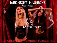 Midnight Fashions, New York - red light district...  www.longinusthevampire.com  #vampires #demons #horror #ebook