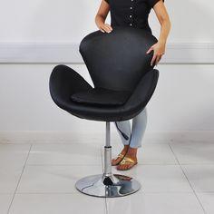 Trendy Black Hair Salon Chair