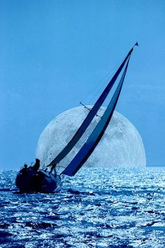 Let's sail to the moon. Out the Front Window