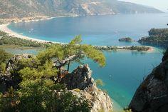 Blue Lagoon Oludeniz - Turkiye Blue Lagoon, Trekking, River, Mountains, Park, Nature, Outdoor, Outdoors, Naturaleza