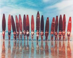 """The Fascinating Evolution of the Surfboard - Excerpts from Jim Heimanns Surfing a new book from Taschen that chronicles """"the sport of kings"""" in vivid detail. The post The Fascinating Evolution of the Surfboard appeared first on WIRED. Vintage Surfing, Surf Vintage, Photo Vintage, Combi Ww, Sup Stand Up Paddle, Surfing Photos, Biarritz, Longboarding, Surf Style"""