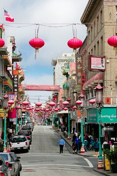 "San Francisco – Chinatown.  What a GREAT way to see a city....""lose"" yourself with a Garmin and take the roads that look interesting.  Ended up in historic Chinatown...very cool to run through.  From the Financial District....to Union Square...to Lombard Street...to Alcatraz...to Chinatown...to the Bay Bridge.  Loved."