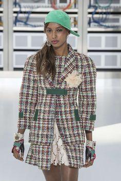 Chanel primavera / verano 2017, Ropa de mujer - Semana de la Moda Paris