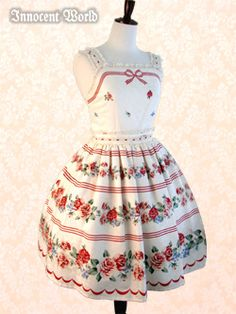 perfect for summer!!  #lolita #roses #sweet    Ugh, I love this! I wish I had the money for Lolita :(