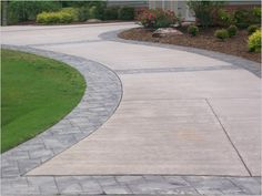 CONCRETE AND STAMPED CONCRETE