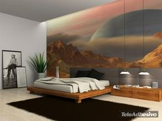 Wall Murals Landscape from another planet