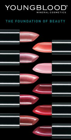 YOUNGBLOOD MINERAL COSMETICS by JUAN CERVANTES, via Behance