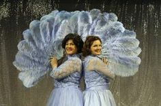 """The Haynes Sisters in """"White Christmas"""""""
