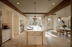Check out this gorgeous kitchen floor.