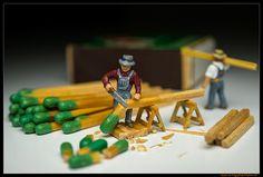 Matchstick Lumberjacks