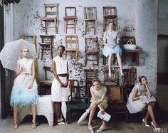 Annie Leibovitz Grace Coddington, Happy Photography, Editorial Photography, Fashion Photography, National Photography, Collections Photography, Group Photography, Marc Jacobs, Foto Fashion