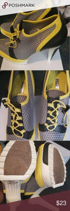 BCBGeneration toggle sporty heel BCBGeneration toggle sporty heel BCBGeneration Shoes Heels