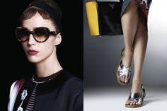 cool PRADA | Campanha Primavera 2013 | Amber Valletta, Eva Herzigova, Raquel Zimmermann e muito mais por Steven Meisel