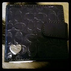 Just reduced: Authentic Coach mirror Rich deep purple with silver Coach emblem on front. This fits neatly in your purse and it snaps together to close it. It's brand new with the tag.  Price is firm. Brand new. Beautiful color.  Reduced 10/20/15 Coach Other