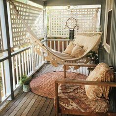 absofreakinlutely need this two person hammock on our screened in porch :D :D :D