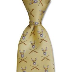 Bird Dog Bay Trophy Deer Sporting Tie  www.kevinscatalog.com