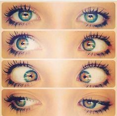 Omg I want these eyes !