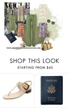 """Travel Pant"" by amy-golomb-harris ❤ liked on Polyvore featuring CAbi, Burberry, Royce Leather, women's clothing, women, female, woman, misses, juniors and travel"