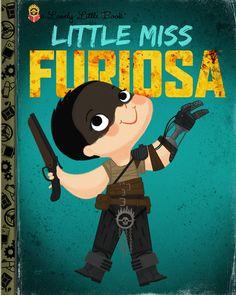 "Joey Spiotto ""Little Miss Furiosa"" Framed Print"