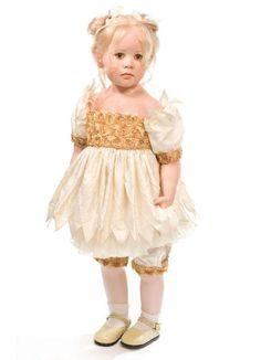 Девочки Hildegard Gunzel 2017 год / Коллекционные куклы Hildegard Gunzel, Хильдегард Гюнцель / Бэйбики. Куклы фото. Одежда для кукол