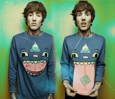 Oliver Sykes>>>probably the best shirt ever:)