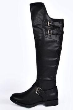 Kelsey Buckle Trim Wader Boot