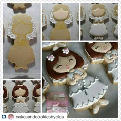 of without the use of a ( ) I was decorating 5 doz of these, so the KK was not an option for me this time. Cutter by Available in 2 sizes for both Girl & Boy Cookies For Kids, Fun Cookies, How To Make Cookies, Cupcake Cookies, Sugar Cookies, Cupcakes, Comunion Cakes, Minion Cookies, First Holy Communion Cake