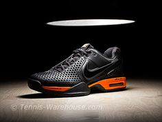 detailed look cf95f 85bcf Nike Court Ballistec 3.3 Black Orange Men s Shoe  99.00 Tennis Warehouse,  Dream Shoes,