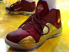 J.R. Smith's NBA Finals Kicks Are Just In. Nike Ambassador 7 Cavs PE.