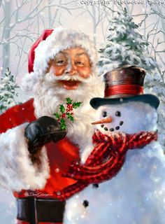 1426 - Santa and Frosty.jpg | Gelsinger Licensing Group