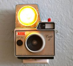 Nightlights Made From Vintage Cameras!  by Mark Boyer, 12/04/11