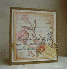 lavender and roses: old garden rose