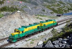 RailPictures.Net Photo: 107 White Pass & Yukon Route DL535E at Skagway, Alaska by E.D. Motis