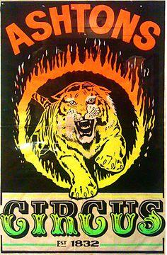 Ashtons Circus.  PIPANDCO_CIRCUS_POSTERS_0958