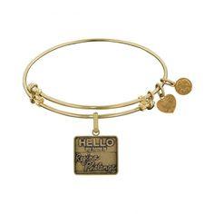 Friends Regina Phalange Angelica Bangle - Brass with Yellow Finish