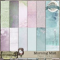 Morning Mist - Paper Pack 2