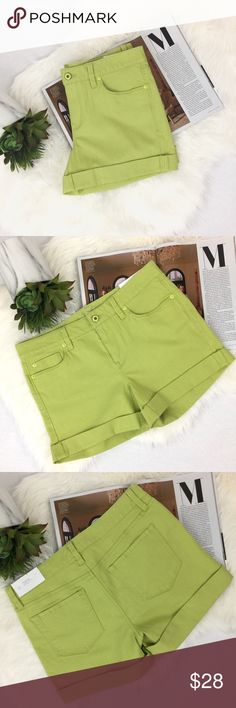 nwt // LOFT // Original Straight Shorts NWT // Original, straight through hips and thigh, jean shorts from LOFT / fun summer color! // waist 32in / hips 38in / rise 9in *please, no trades* LOFT Shorts Jean Shorts