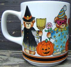 Check out Halloween Witch Black Cat Pumpkin Jack O Lantern Ceramic Mug Lucy Rigg 1984   http://www.ebay.com/itm/Halloween-Witch-Black-Cat-Pumpkin-Jack-O-Lantern-Ceramic-Mug-Lucy-Rigg-1984-/151841788419?roken=cUgayN&soutkn=seGDb0 via @eBay