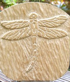 Gallery - Ali Fish Unique Wood Carving Dragonfly