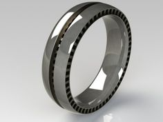 3D Printing Service i.materialise | Wedding Ring