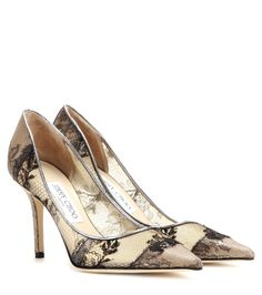 Jimmy Choo - Agnes lace pumps