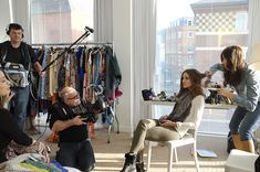Behind the Scenes of my Fashion Week Video for Grazia