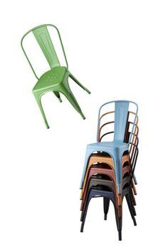A Sedia impilabile by Tolix Steel Design design Xavier Pauchard