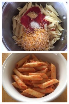 "A picky eater's favorite: ""Cheesy Pasta""  My 6 year old daughter is an extremely picky eater and my grandma passed down this pleaser and now I make it on the regular, it's my daughter's favorite meal.  All it calls for is 1 1/2 cups penne pasta, then after its cooked, 3/4 of an 8 oz can of tomato sauce, 1 tsp of garlic salt, 1 tsp of chicken bouillon powder and a handful of jack & cheddar blend cheese. Stir and voila! Instant favorite in less than 15 min. with BASIC ingredients everyone has!"