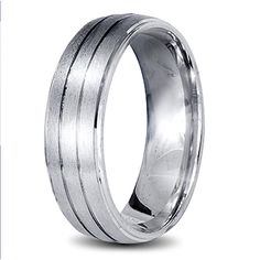 White gold mend wedding ring Rings For Men, Prince, Bands, White Gold, Wedding Rings, Jewels, Gallery, Design, Men Rings