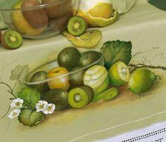 Resultado de imagem para bia moreira pintura em tecido pano de prato
