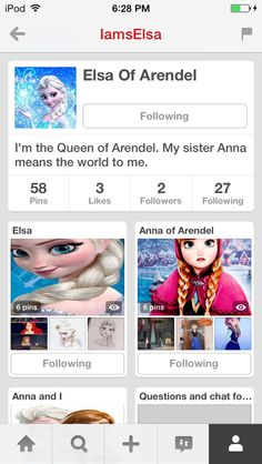 Go follow her! If you ❄️❄️ frozen you won't be disappointed!