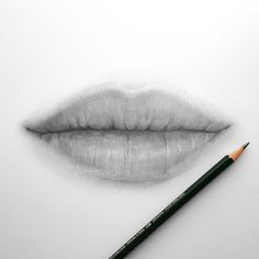 Video: Drawing Lips with Graphite Pencils
