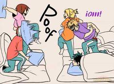 Boku No Academia, My Hero Academia Shouto, Hero Academia Characters, Jojo's Bizarre Adventure, Best Memes, Funny Memes, Red Right Hand, Mini Comic, Romance